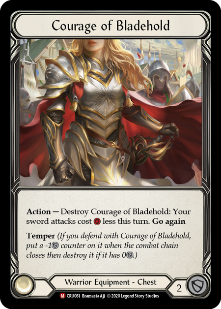 Courage of Bladehold (Cold Foil)