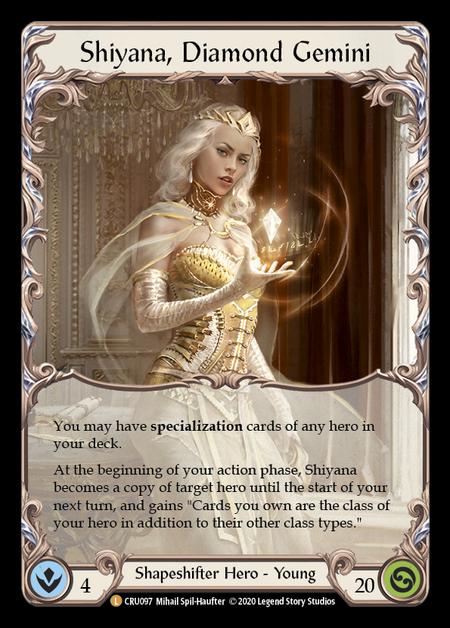 Shiyana, Diamond Gemini (Cold Foil)