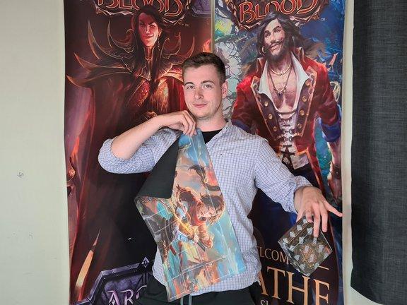Dice Jar Skirmish Winner Jacob Pearson