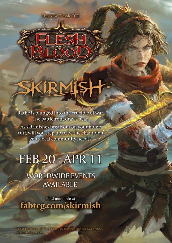 Skirmish poster