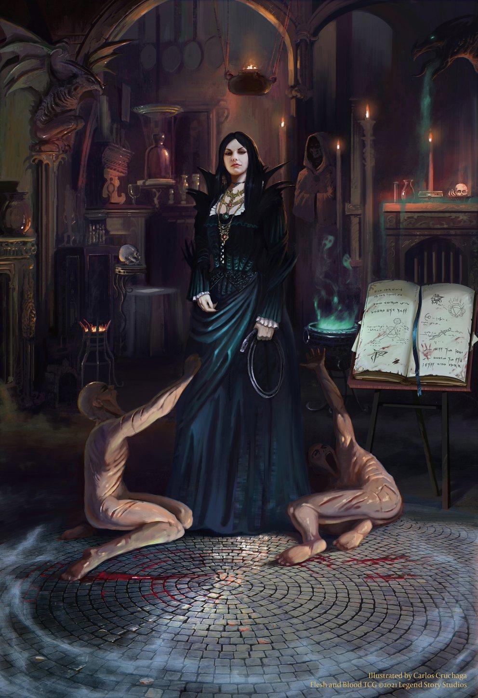 Lady Barthimont (© Legend Story Studios 2021, illus. by Carlos Cruchaga)