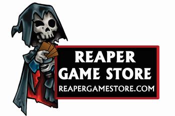 Reaper Game Store Logo