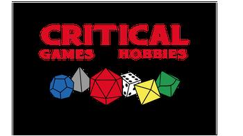 critical games and hobbies logo