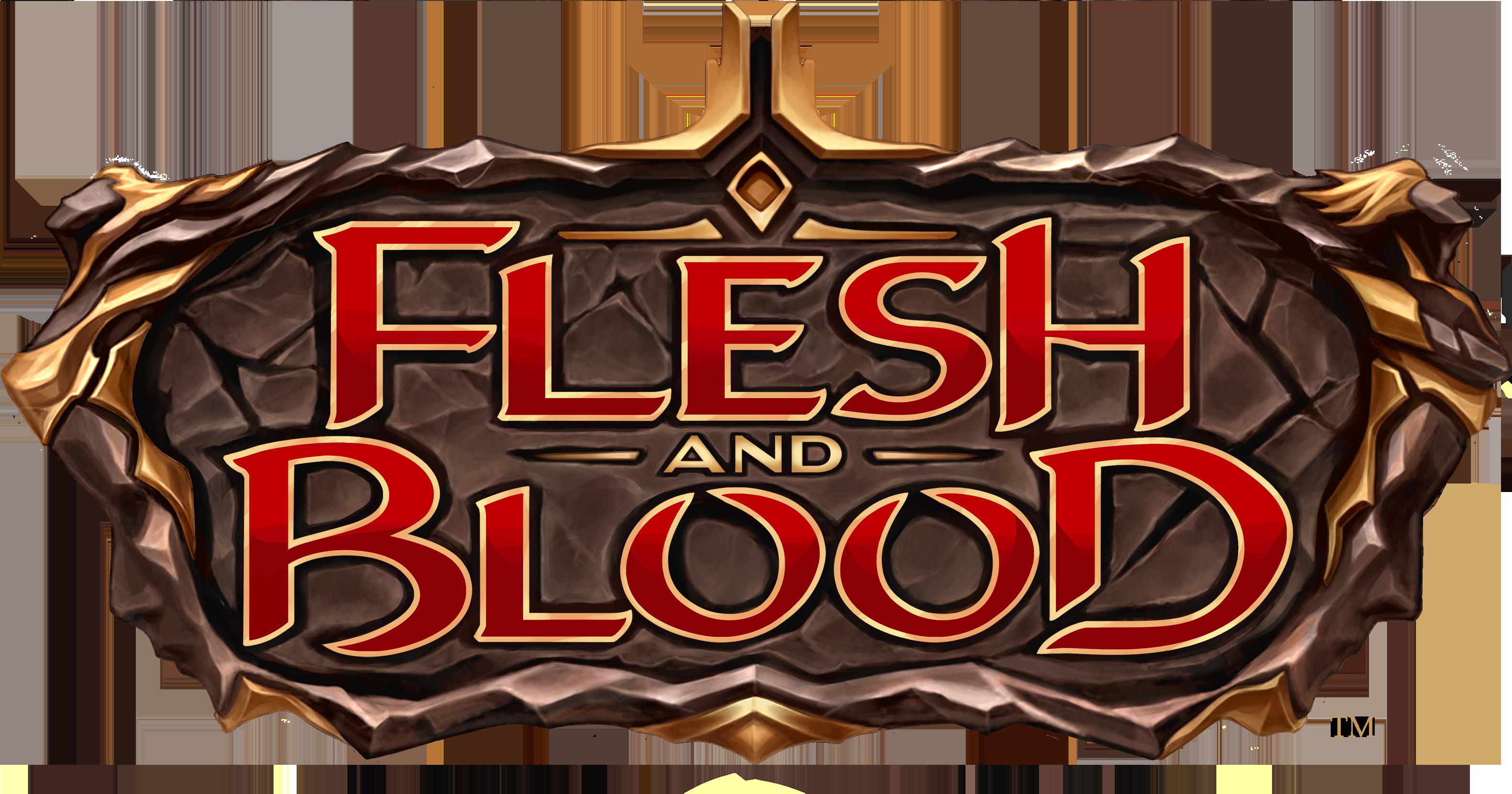Flesh and Blood TCG Logo