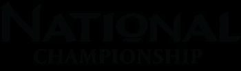 National Championships Logo B&W