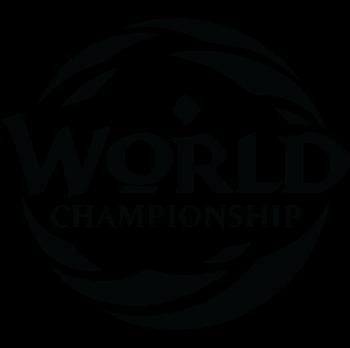 World Championships Logo B&W