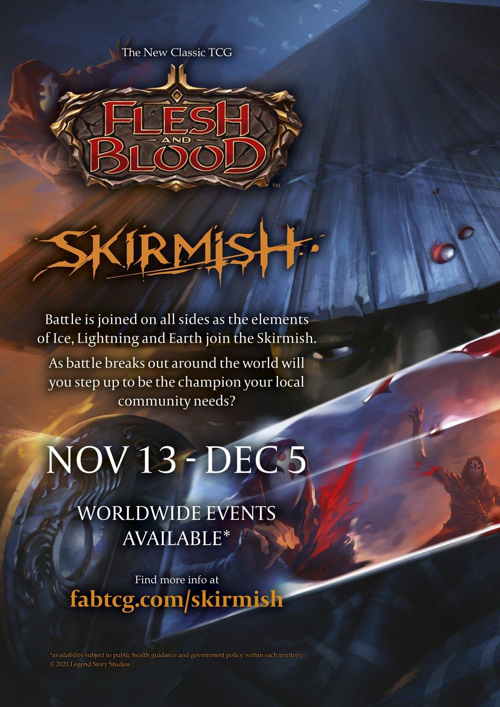 Event Poster - Skirmish