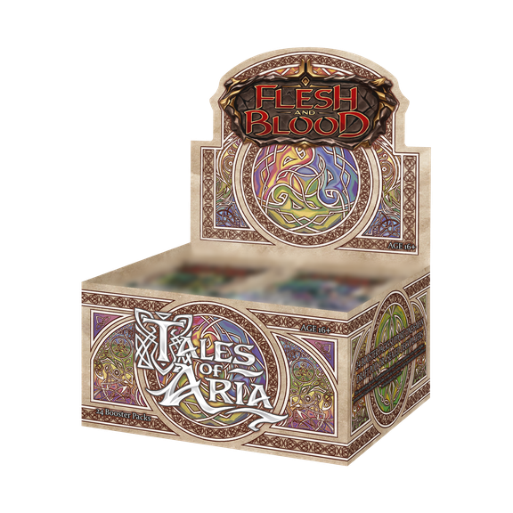 Tales of Aria Booster Display