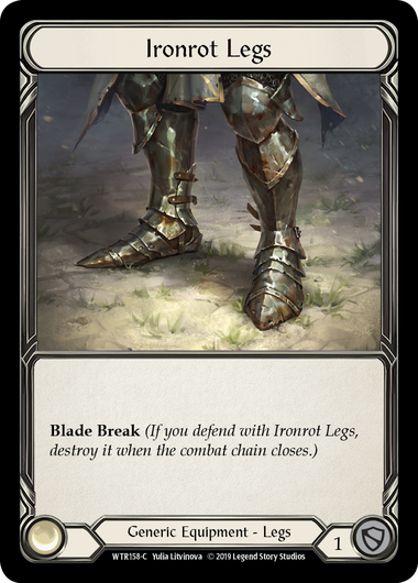 Ironrot Legs (Cold Foil)