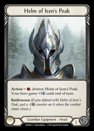 Helm of Isen's Peak (Cold Foil)