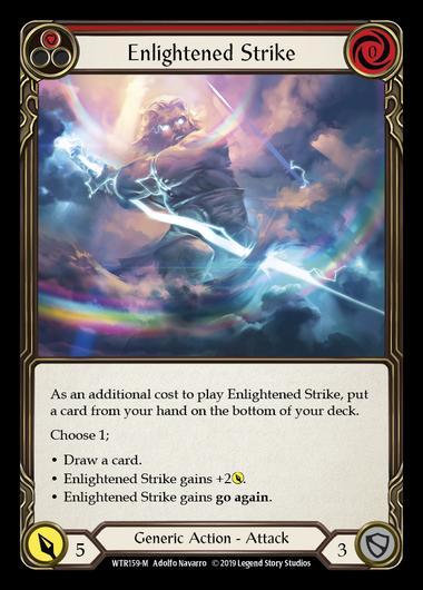 Enlightened Strike (Rainbow Foil)
