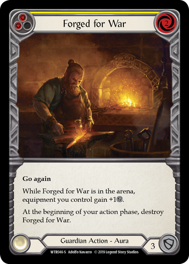 Forged for War (Rainbow Foil)