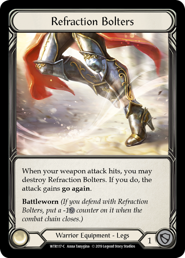 Refraction Bolters (Cold Foil)