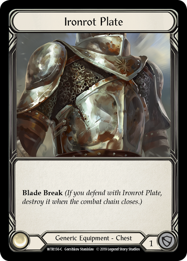 Ironrot Plate (Cold Foil)