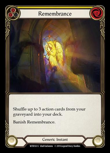 Remembrance (Rainbow Foil)