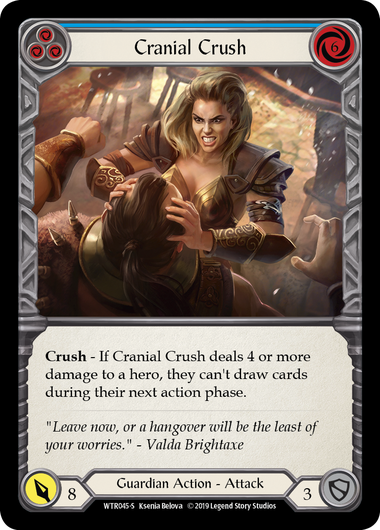 Cranial Crush (Rainbow Foil)