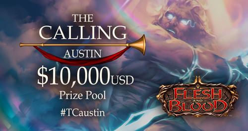 The Calling Austin banner