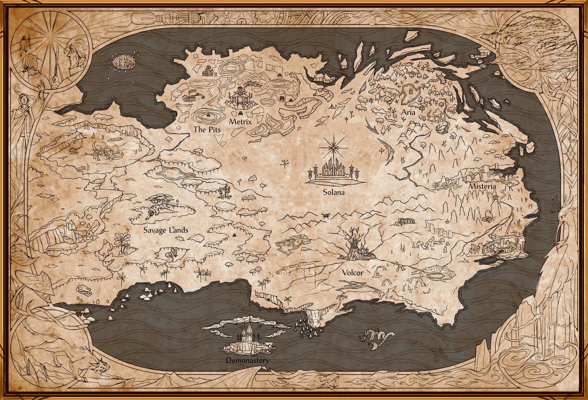 Map of Rathe
