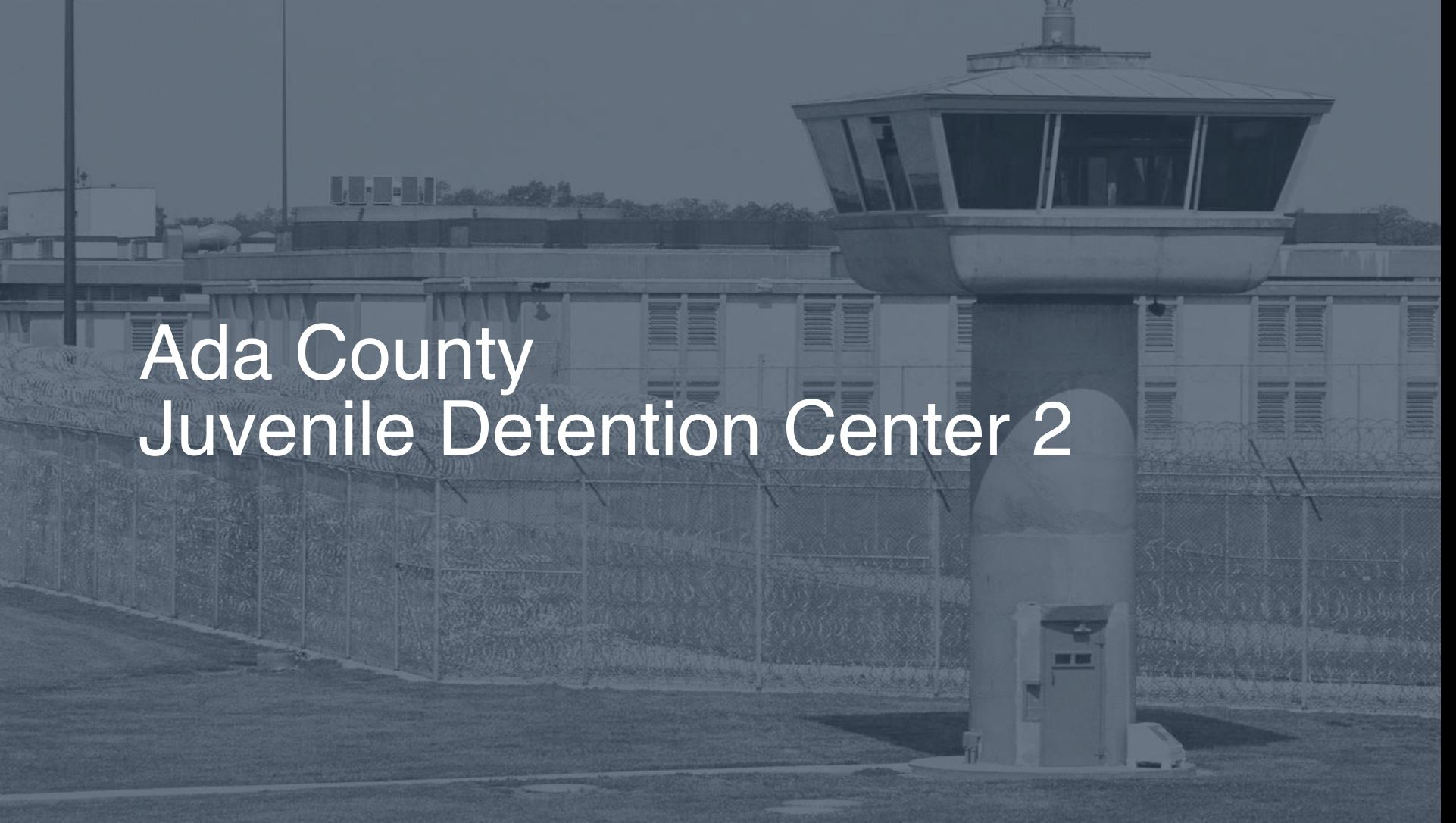 Ada County Juvenile Detention Center   Pigeonly - Inmate