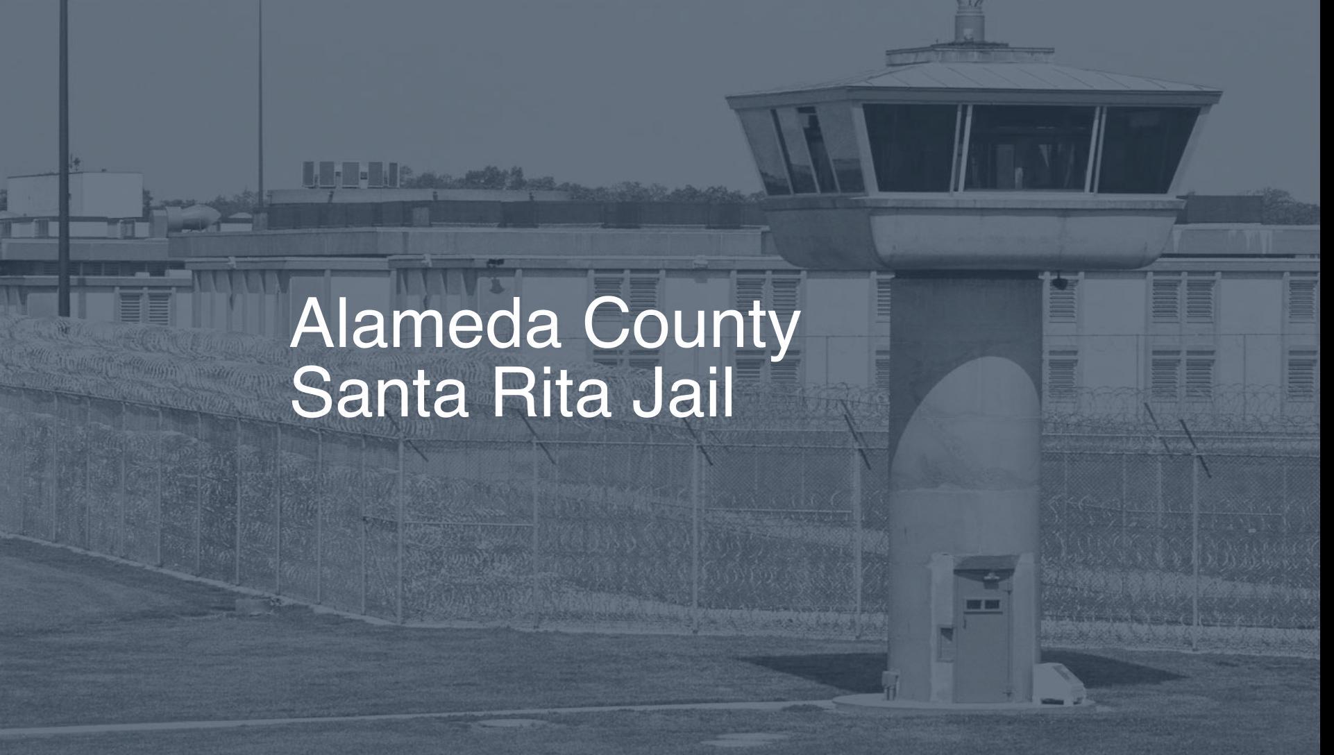 Alameda County Santa Rita Jail Inmate Search, Lookup