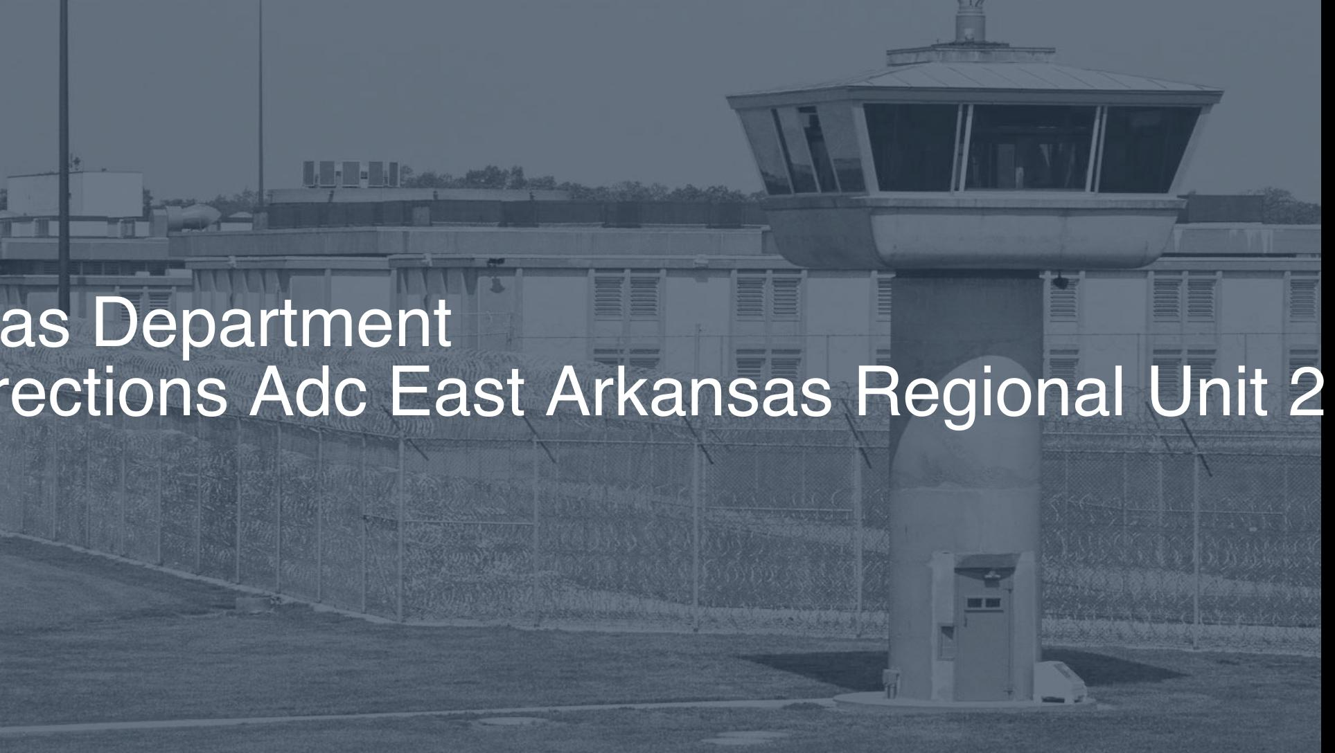 Arkansas Department of Corrections (ADC) - East Arkansas Regional Unit correctional facility picture