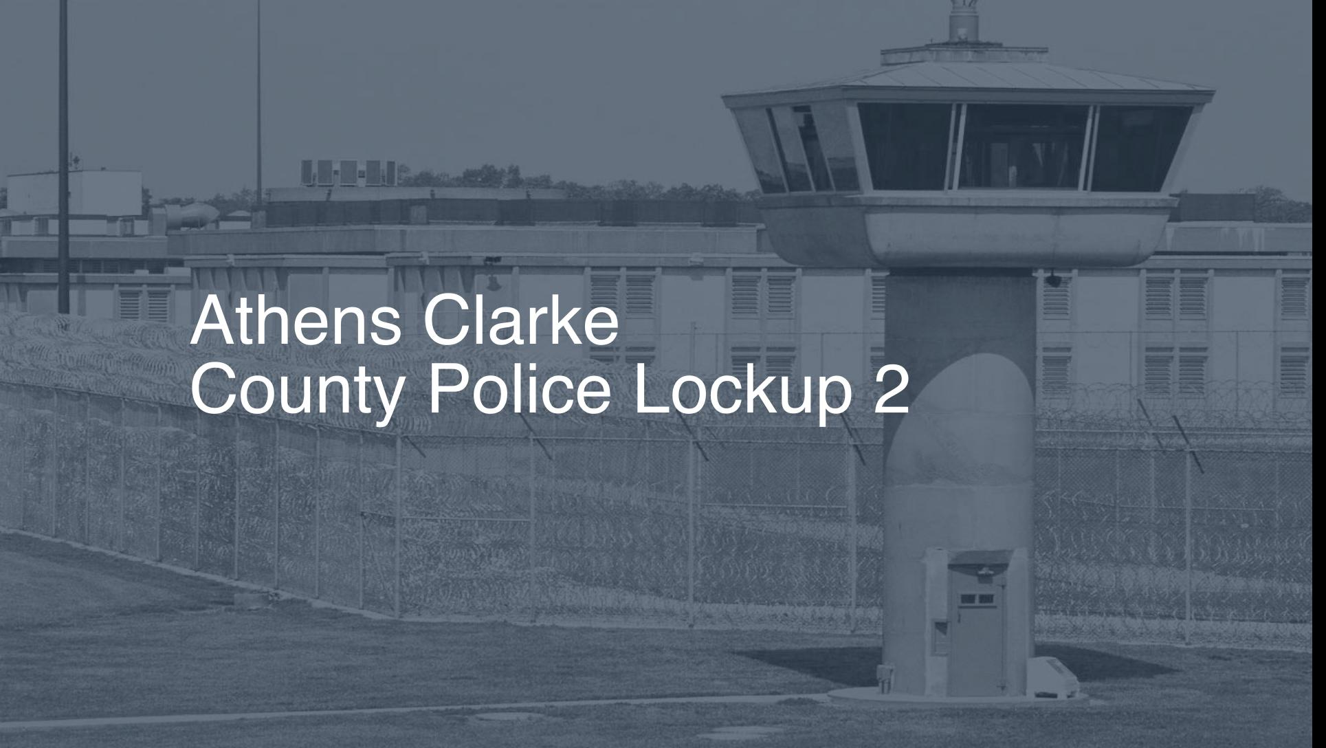 Athens-Clarke County Police Lockup Inmate Search, Lookup & Services