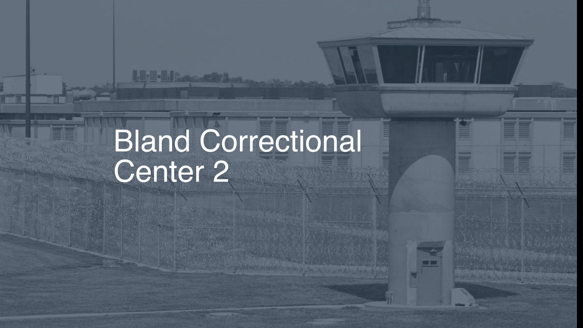 Bland Correctional Center correctional facility picture