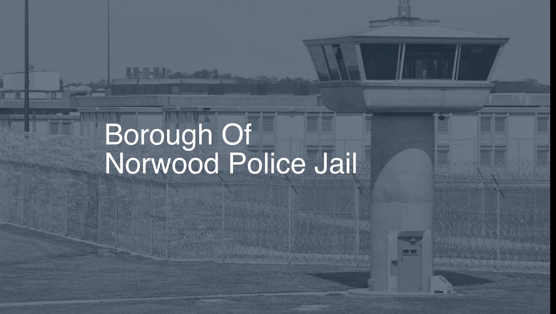 Borough of Norwood Police Jail correctional facility picture