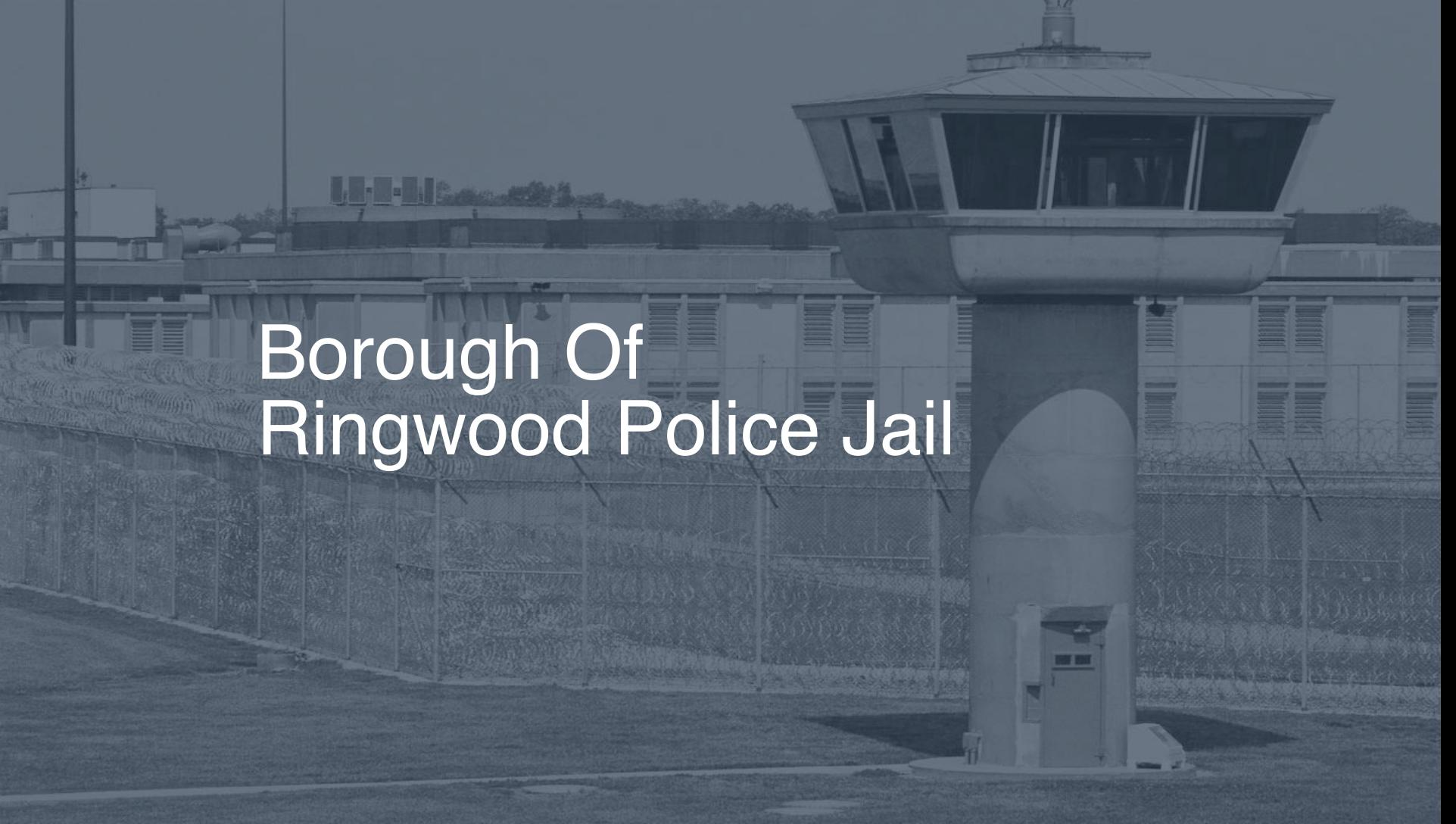 Borough of Ringwood Police Jail correctional facility picture