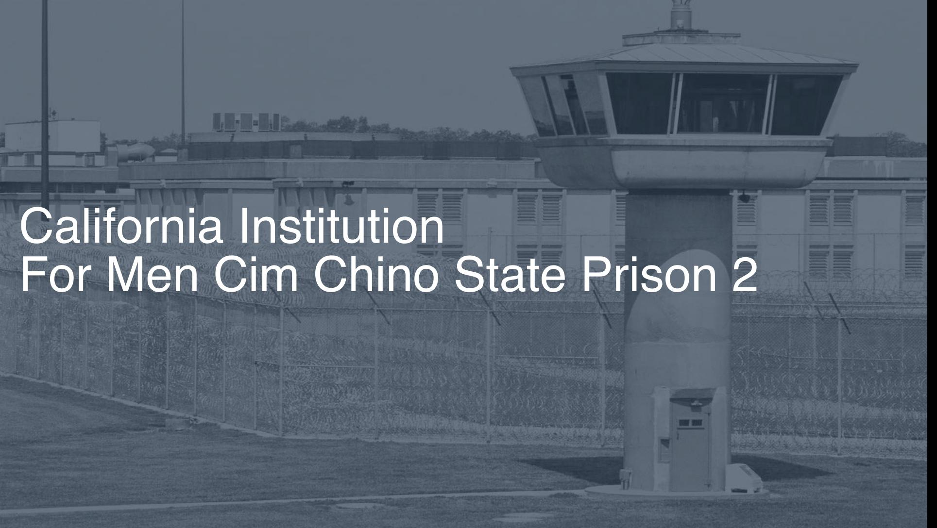 California Inmate Search