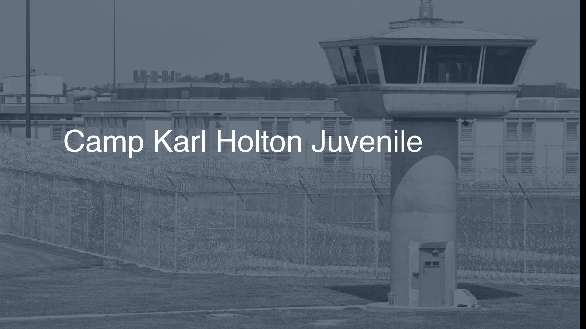 Camp Karl Holton (Juvenile) correctional facility picture