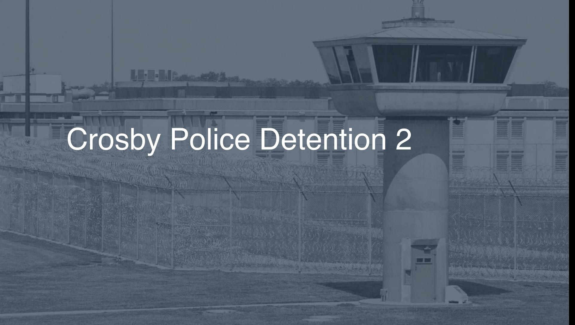 Crosby Police Detention correctional facility picture