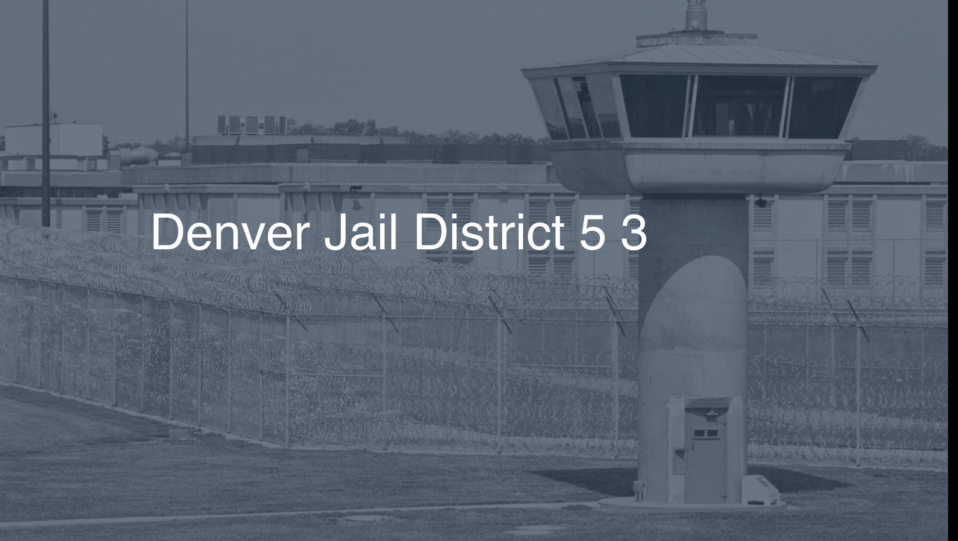 Denver Jail - District 5 correctional facility picture