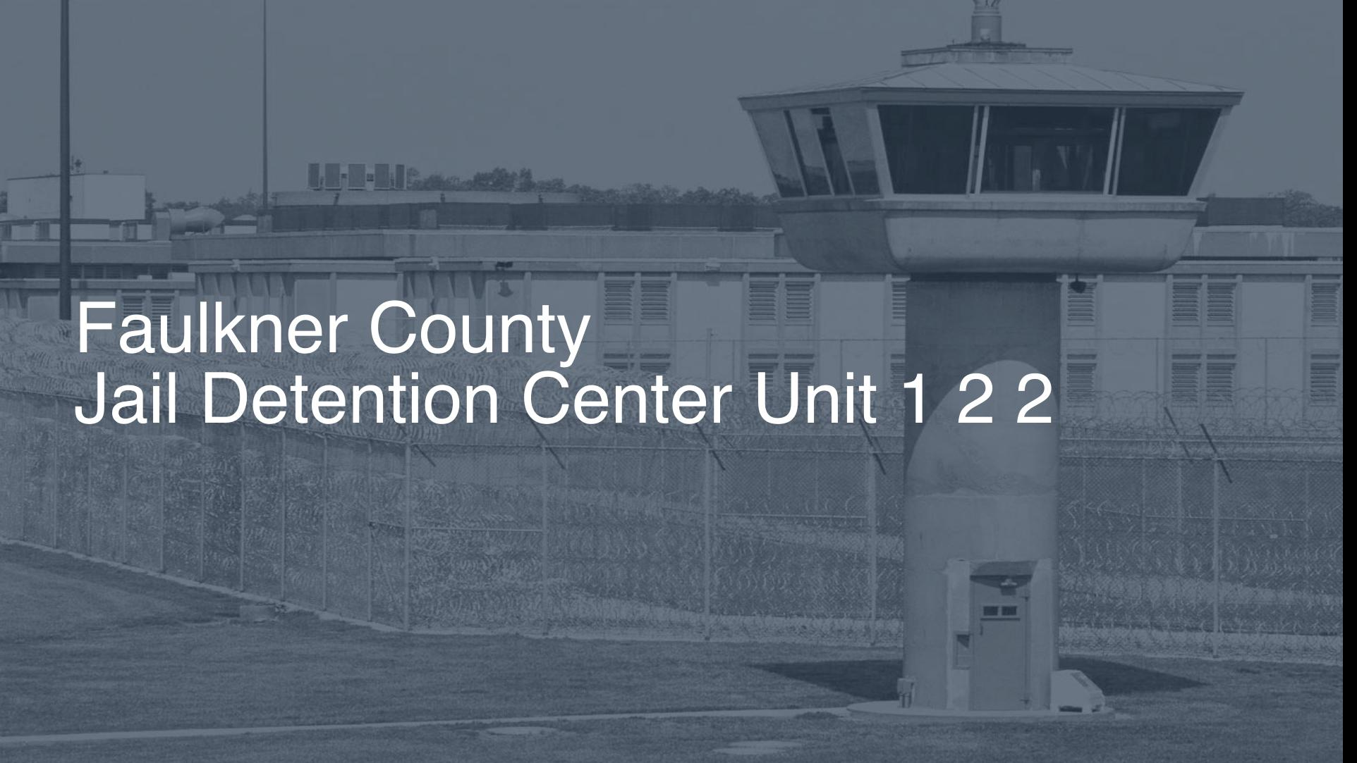 Faulkner County Jail & Detention Center (Unit 1 & 2) correctional facility picture