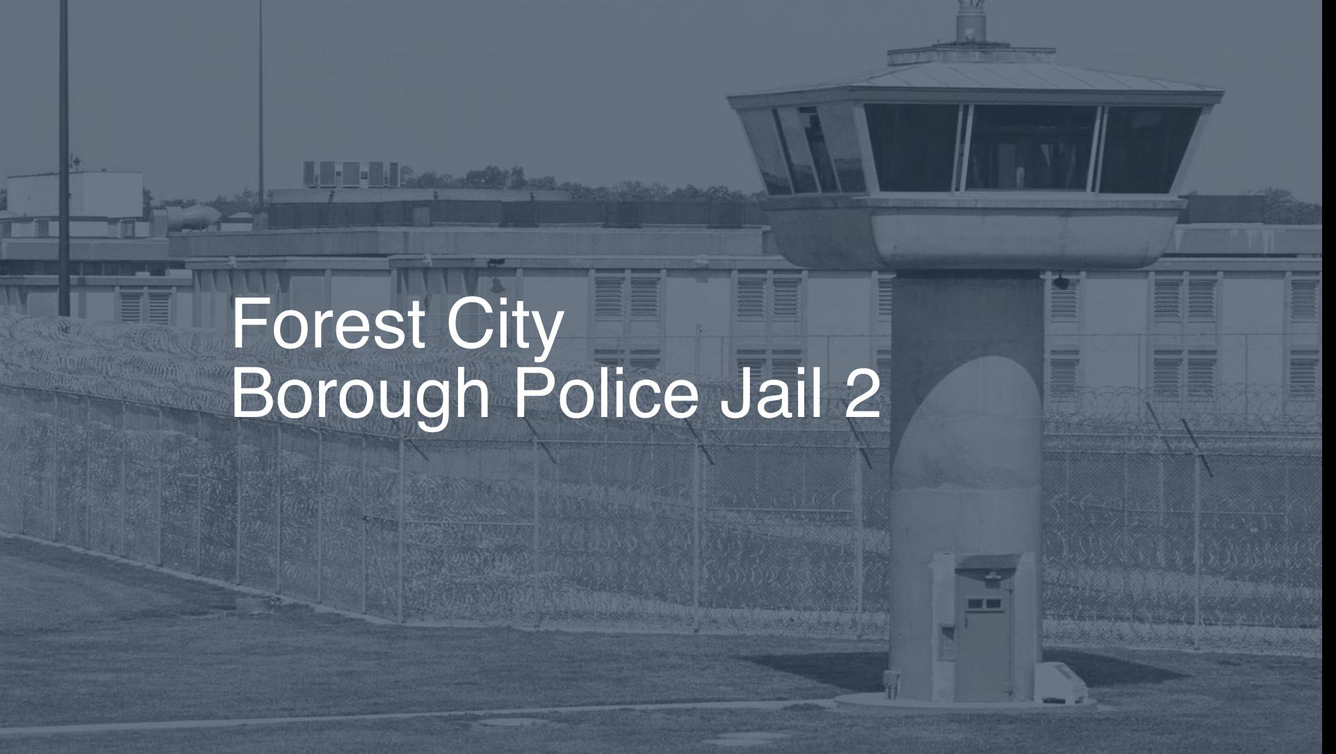 Forest City Borough Police Jail correctional facility picture