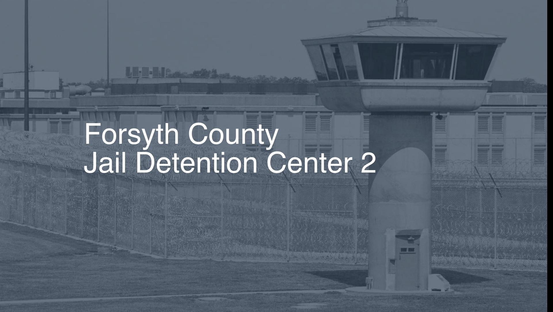 Forsyth County Jail & Detention Center Inmate Search, Lookup