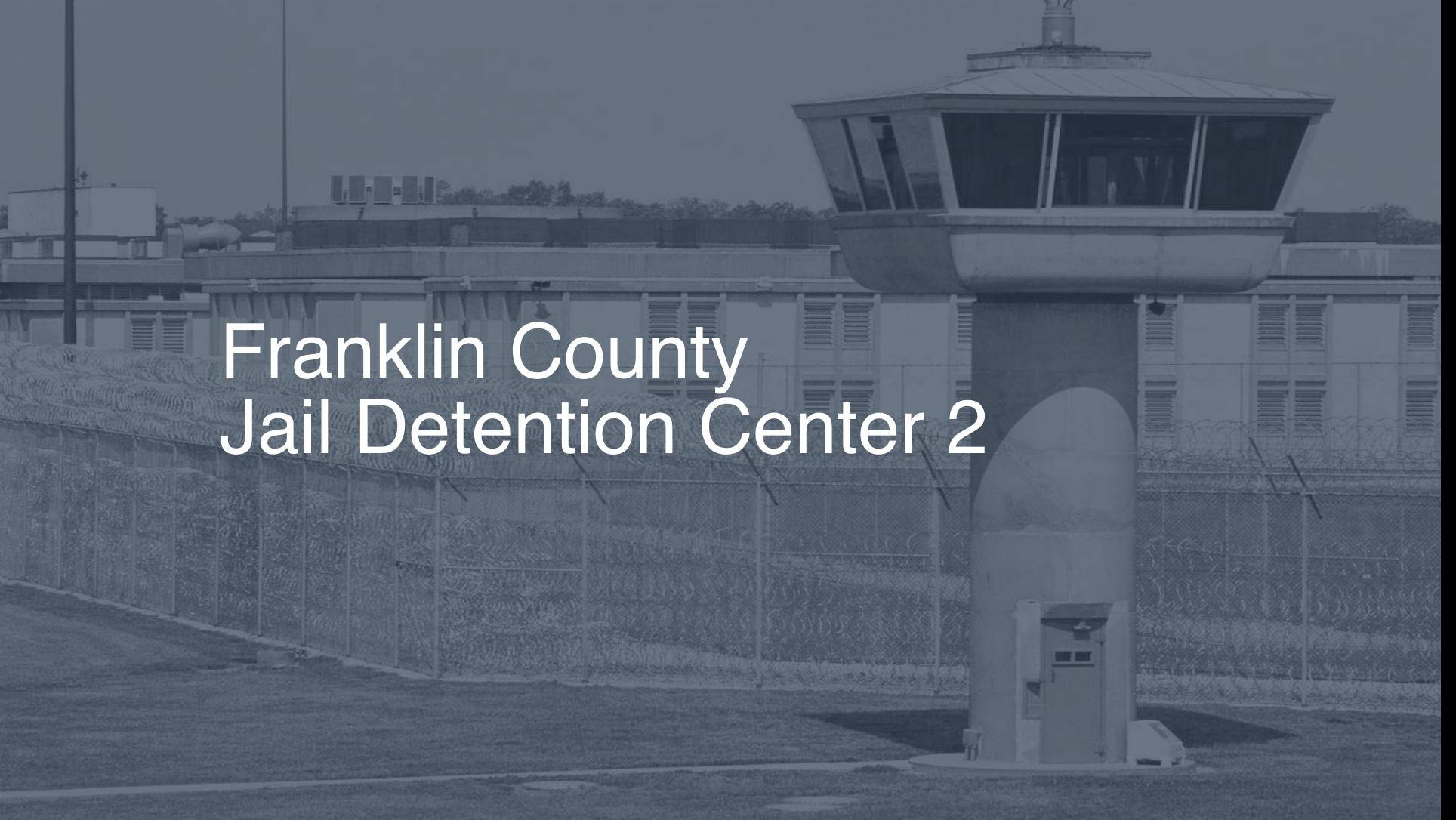 Franklin County Jail & Detention Center Inmate Search, Lookup