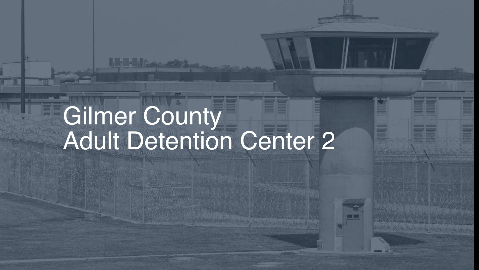 Gilmer County Adult Detention Center (2019)   Inmate Search