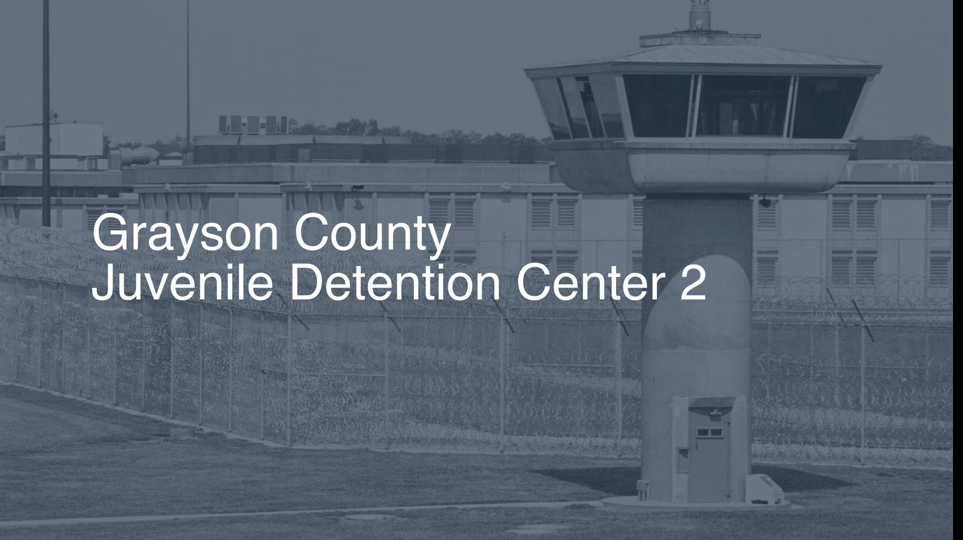 Grayson County Juvenile Detention Center correctional facility picture