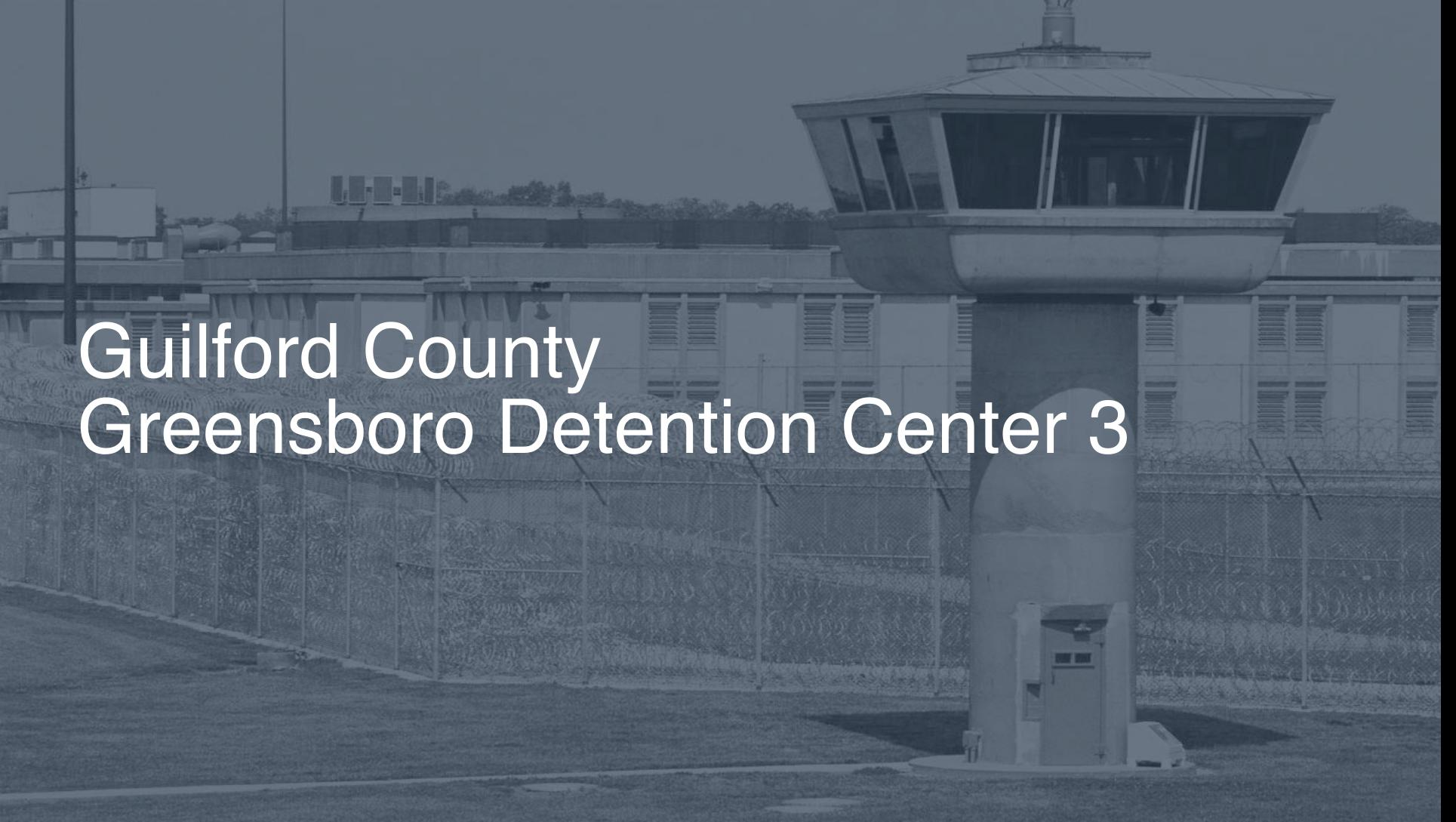 Guilford County – Greensboro Detention Center   Pigeonly