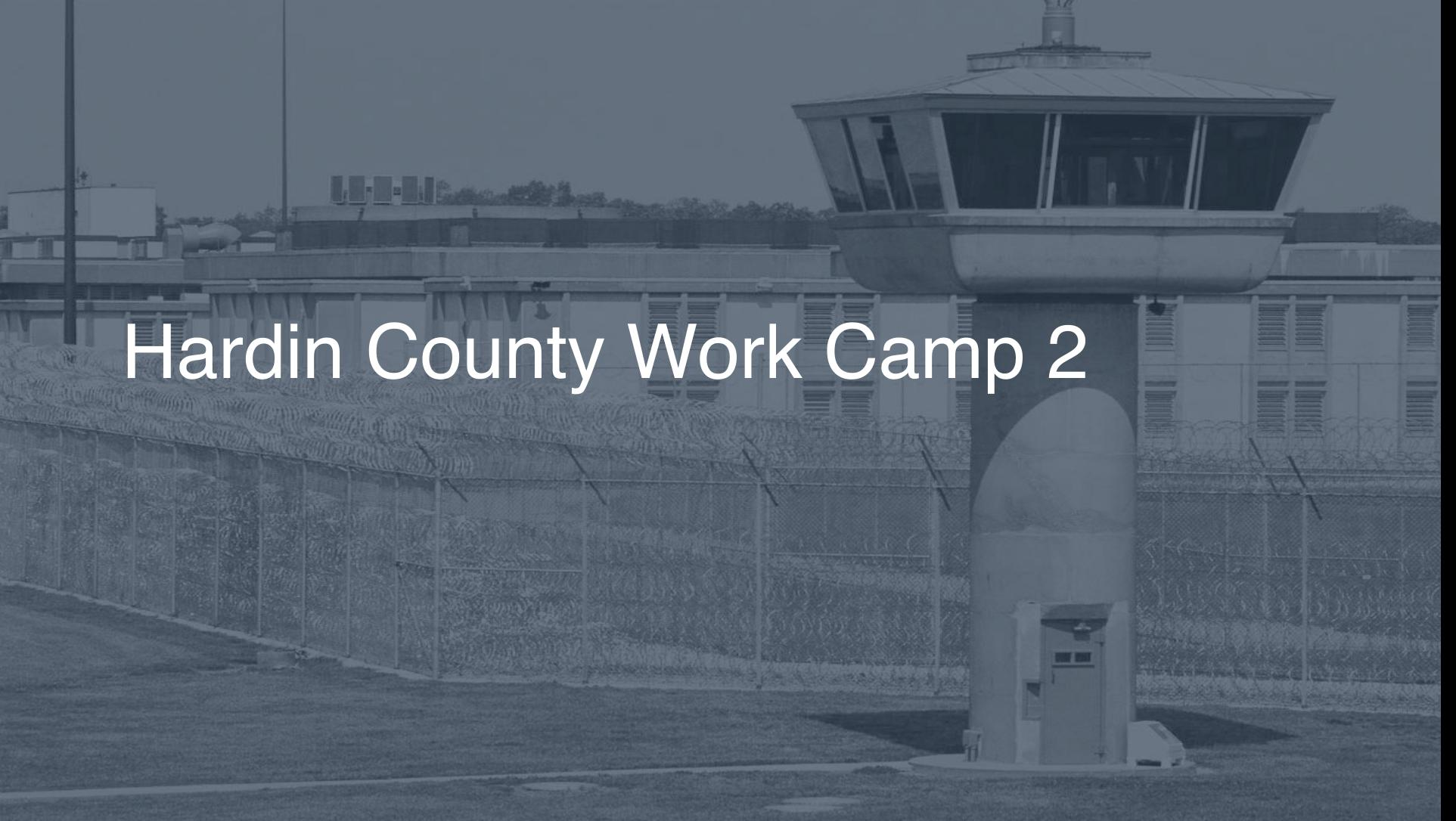 Hardin County Work Camp correctional facility picture