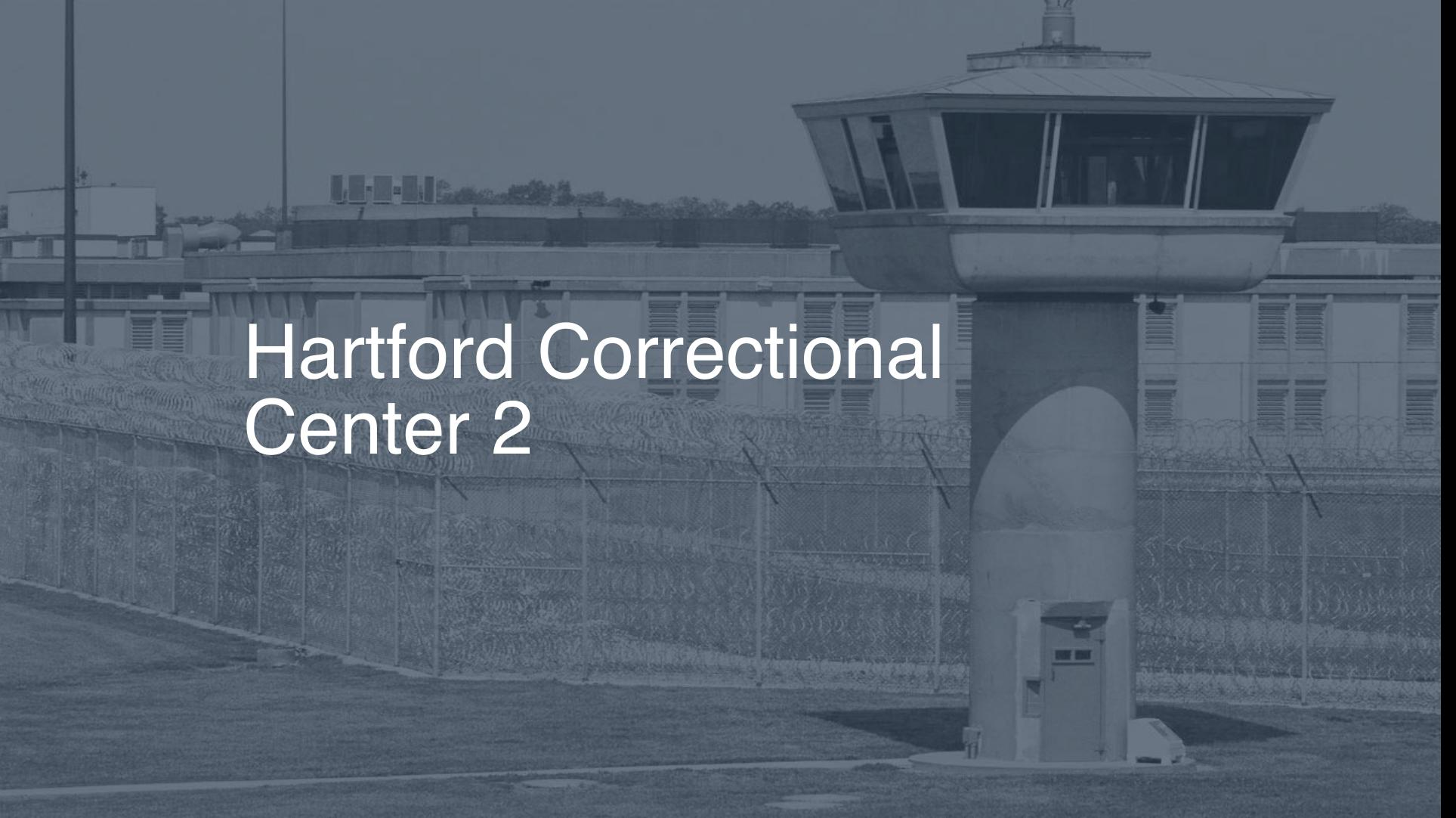 Hartford Correctional Center | Pigeonly - Inmate Search