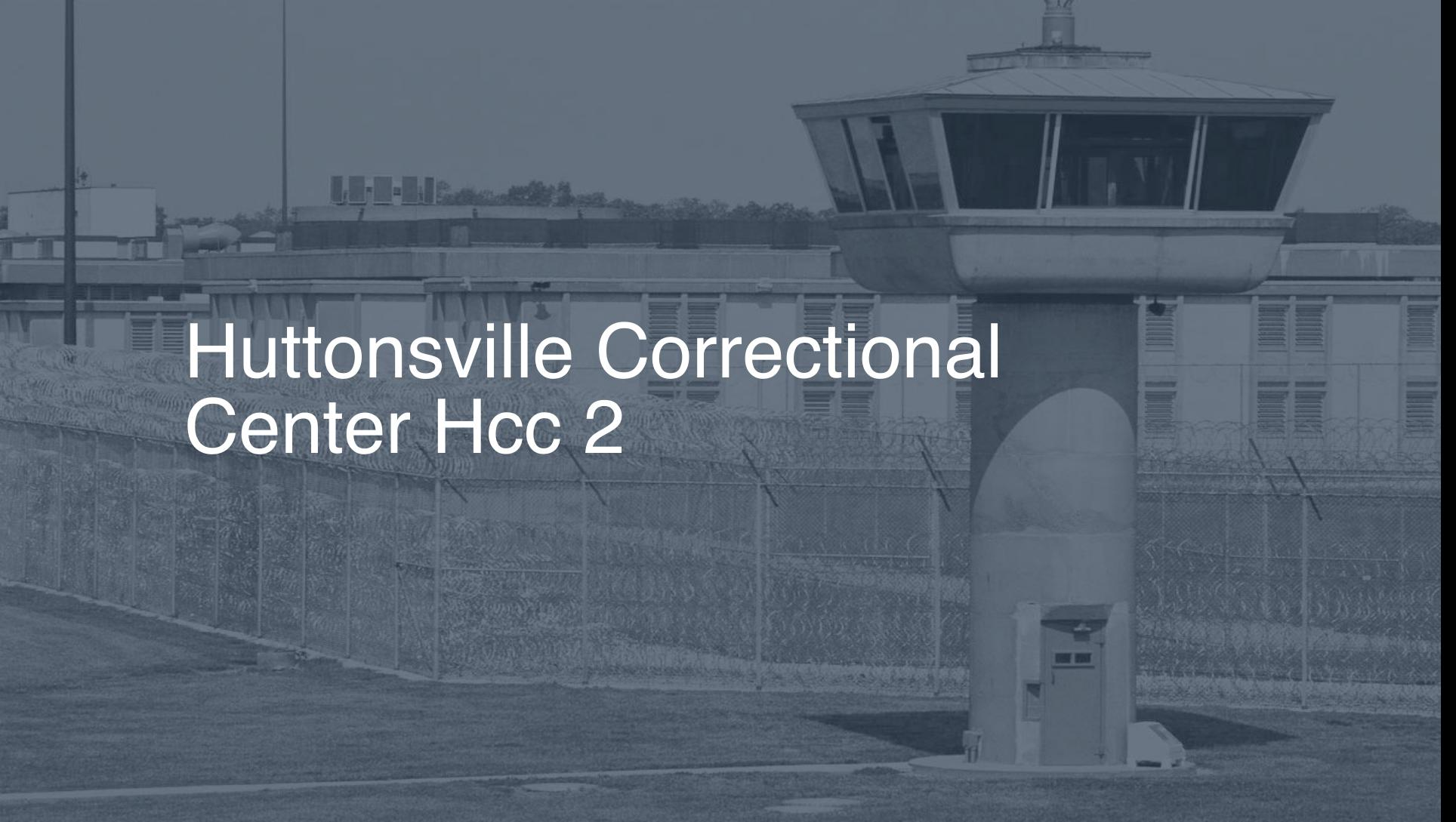 Huttonsville Correctional Center (HCC)   Pigeonly - Inmate