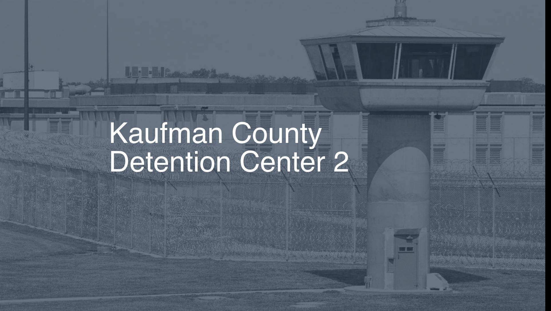 Kaufman County Detention Center | Pigeonly - Inmate Search