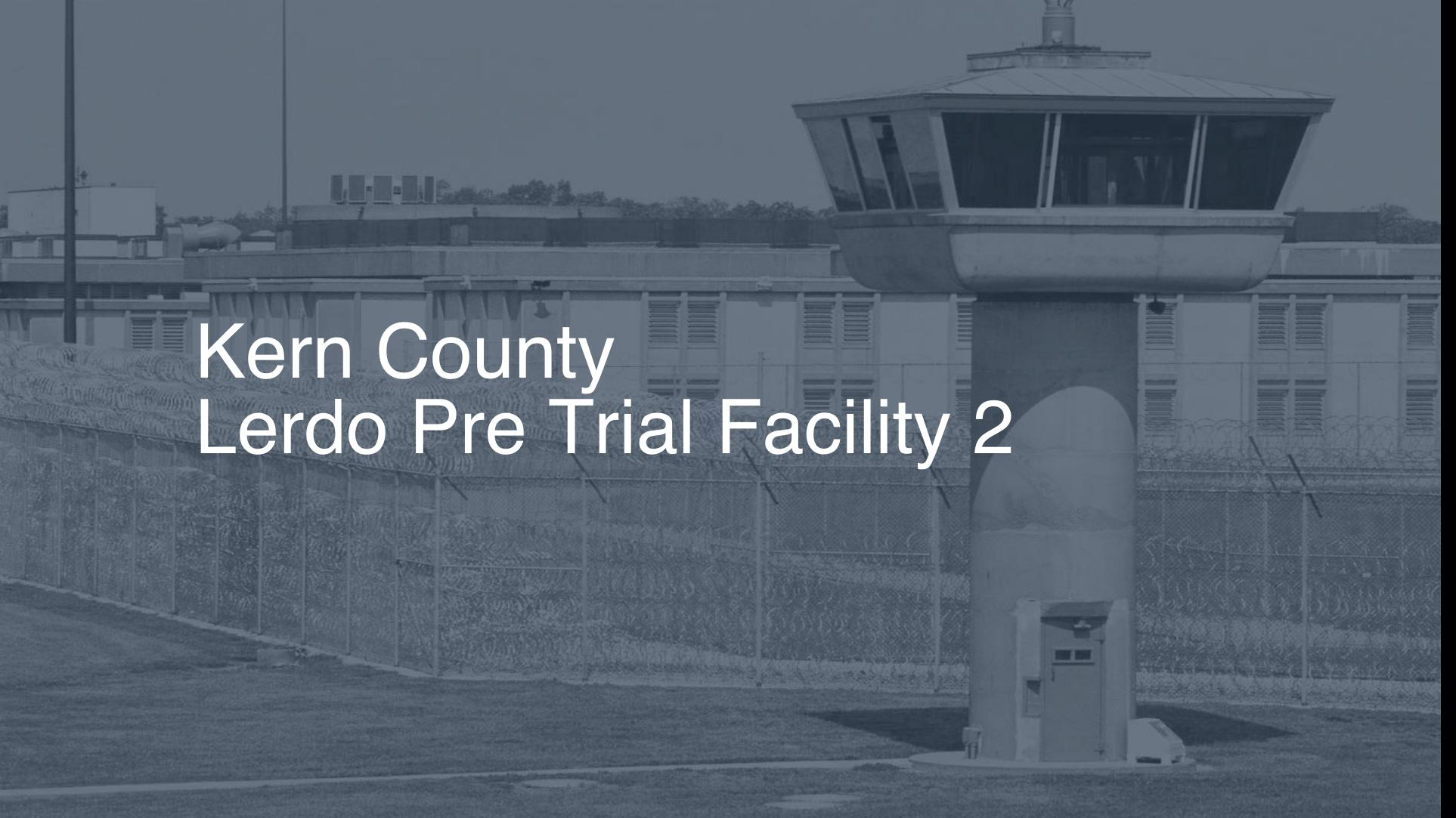 Kern County Lerdo Pre-Trial Facility Inmate Search, Lookup