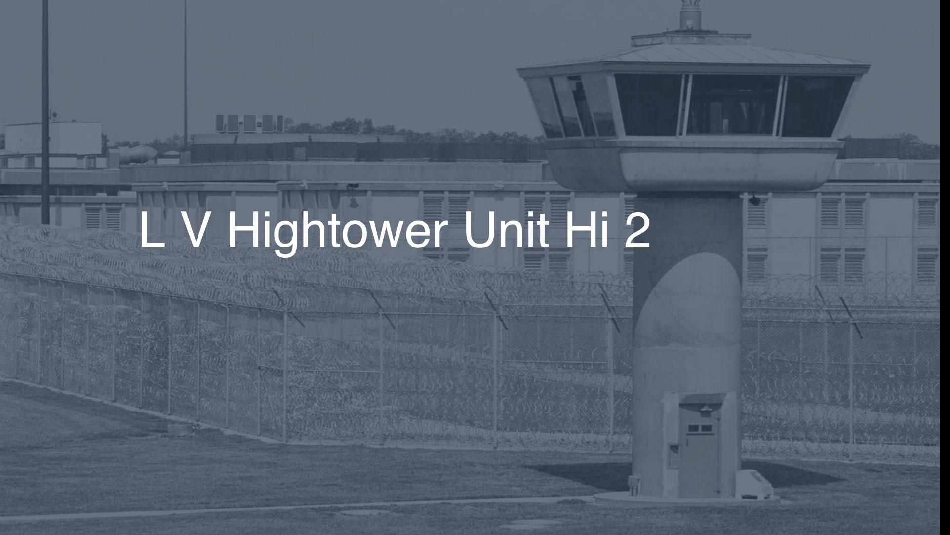 L.V. Hightower Unit (HI) correctional facility picture