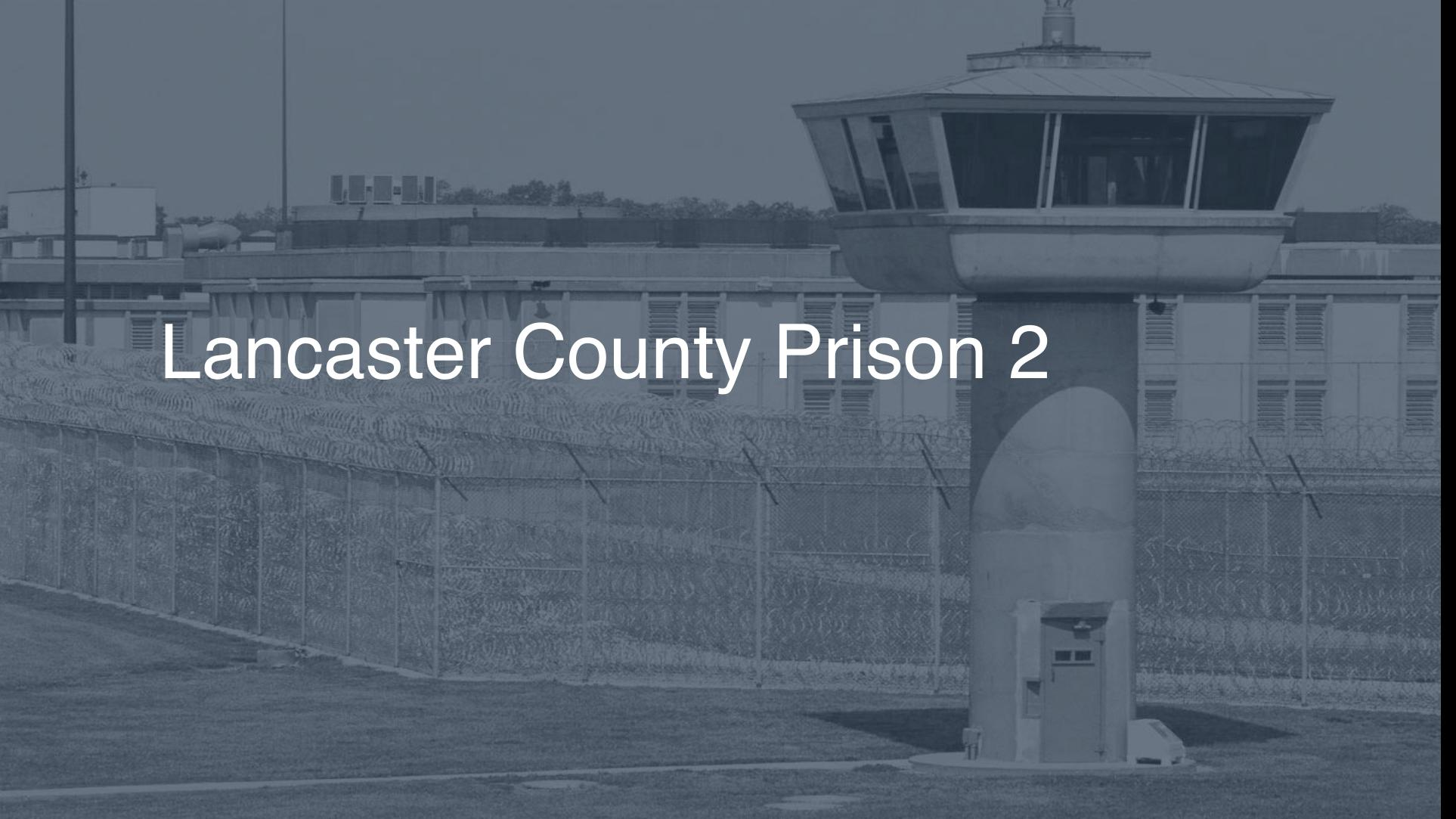 Lancaster County Prison | Pigeonly - Inmate Search, Locate