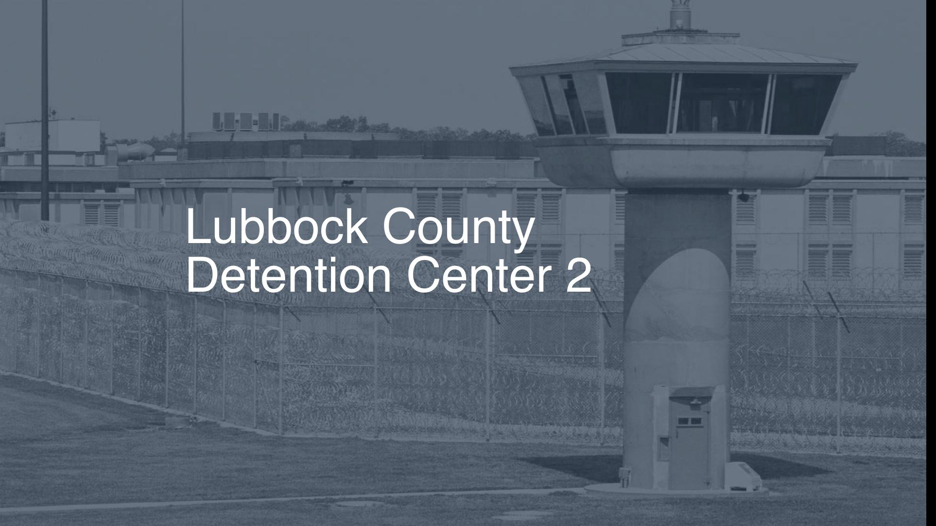 Lubbock County Detention Center Inmate Search, Lookup
