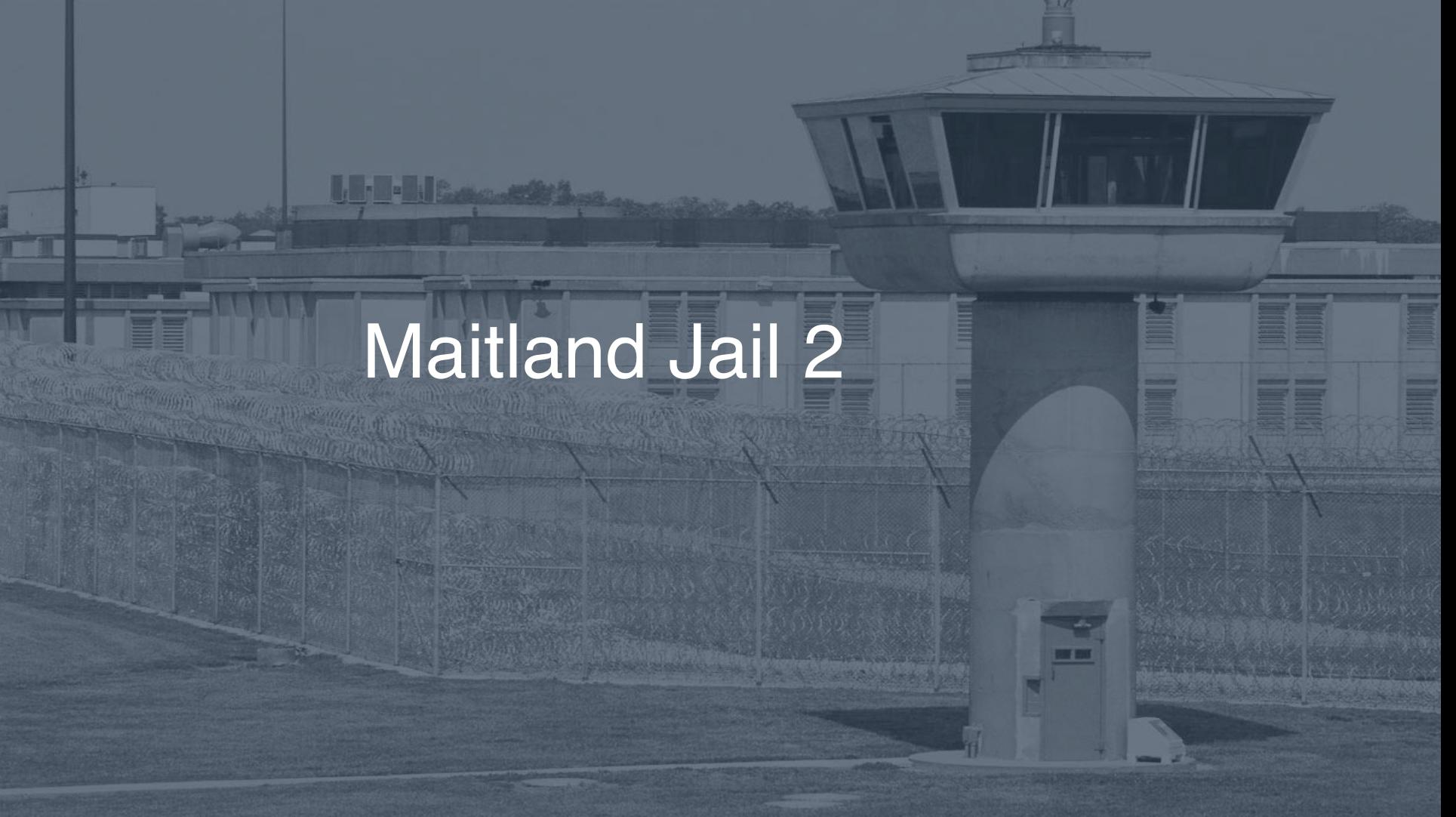 Maitland Jail correctional facility picture