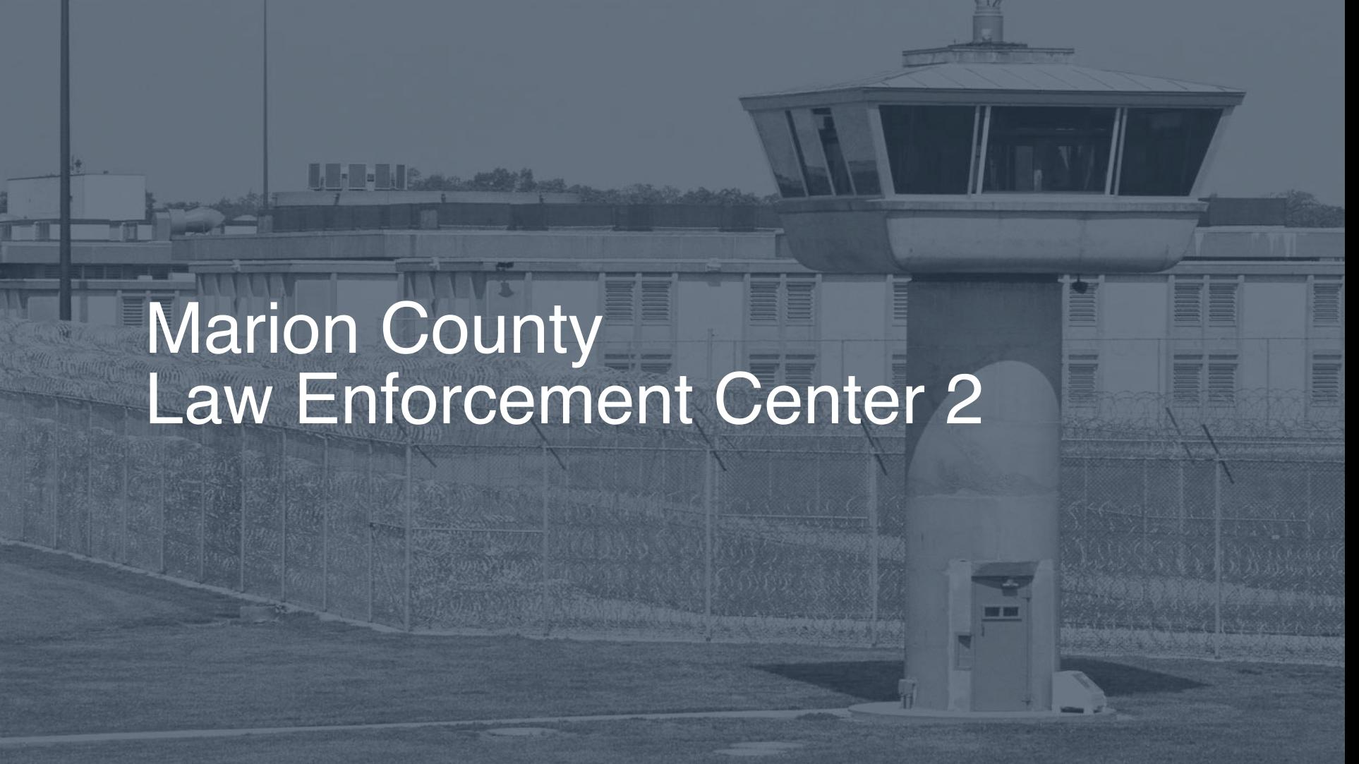 Marion County Law Enforcement Center | Pigeonly - Inmate
